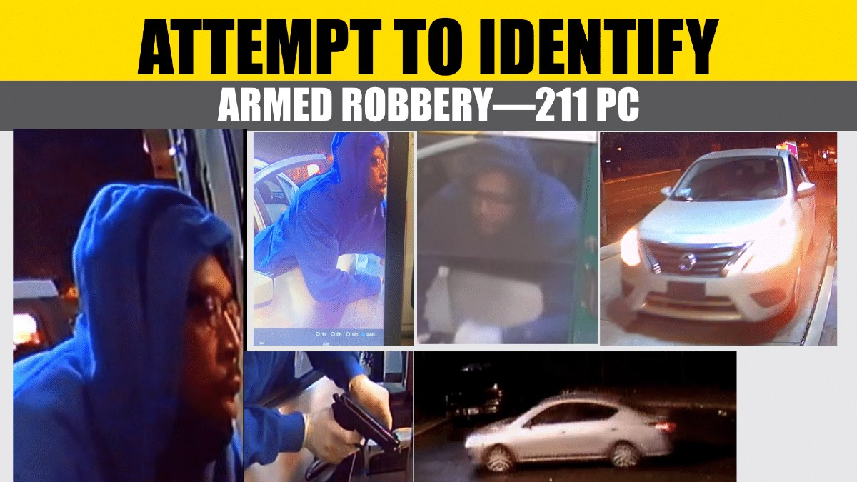 Armed Fast Food Robbery Palmdale