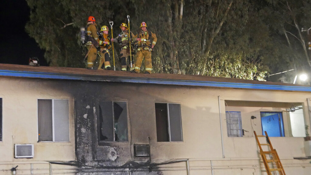Sun Valley Structure Fire 2