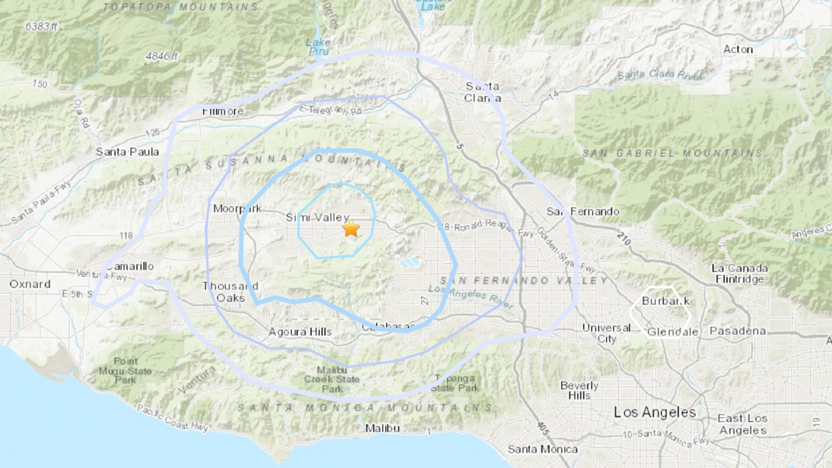 Simi Valley Earthquake -2