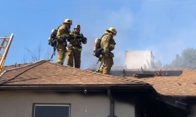 Sun Valley Structure Fire 1