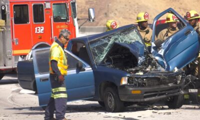 14 Freeway Crash Canyon Country (1)